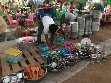 Market at Ananda Festival