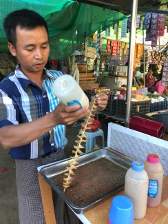 Ananda Festival food market